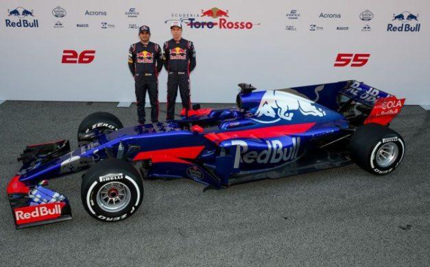 "Offizielle Partner: Formel 1 Team ""Scuderia Toro Rosso"""